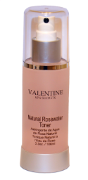 Natural Rosewater Toner 3.3oz