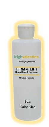 Large Firm & Lift Mineral Face & Eye Serum 8oz